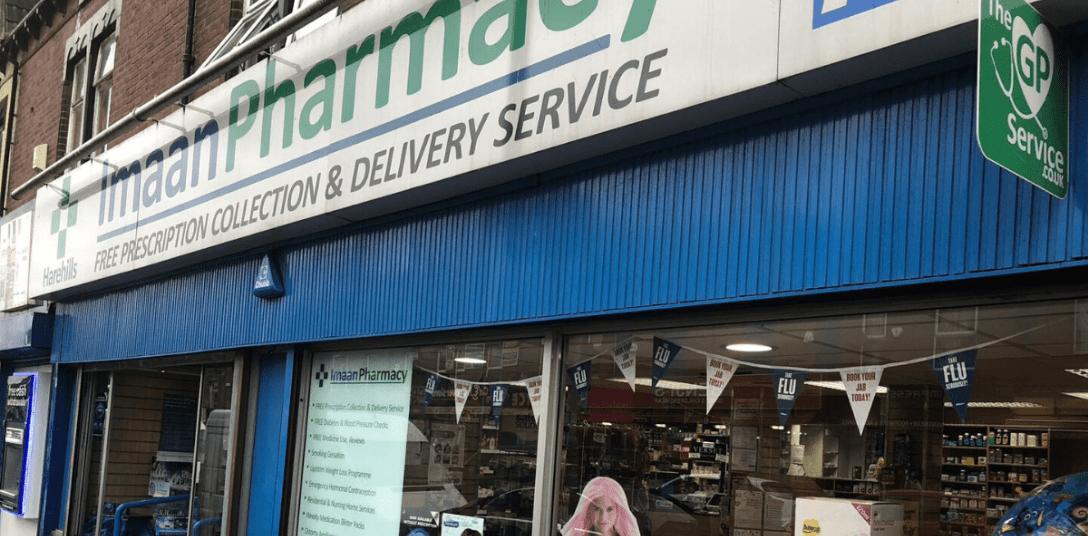 Harehills Pharmacy storefront